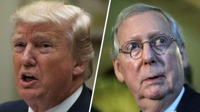 Trump, decepcionado con el poco apoyo republicano