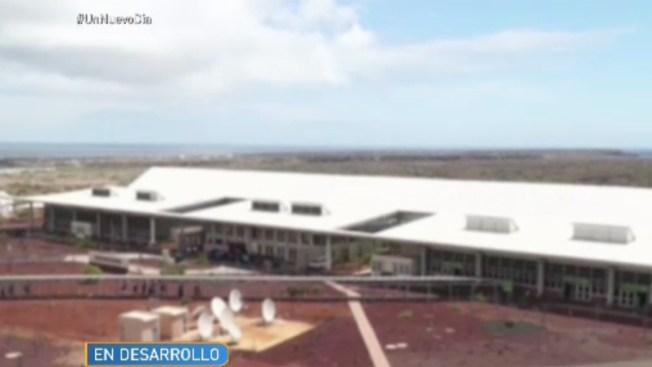 Inauguran primer aeropuerto ecológico