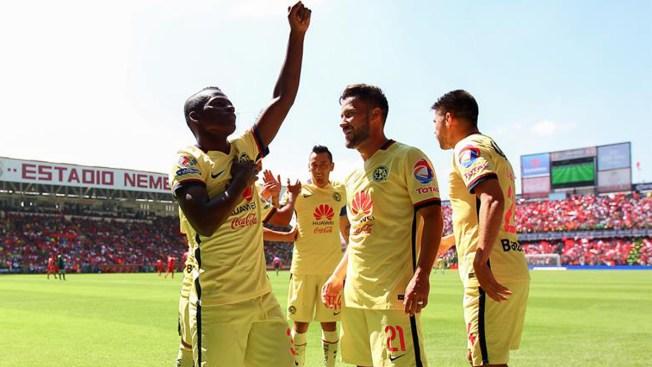 América sorprende con goleada a Toluca