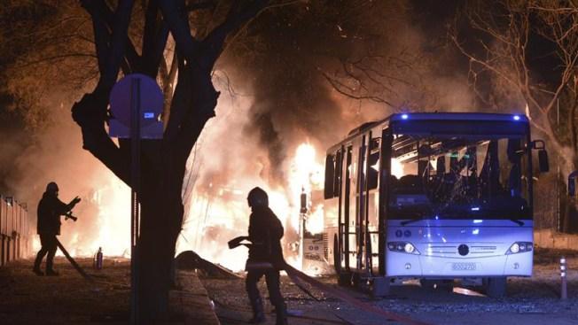 Turquía acusa a kurdos y a Siria de mortal atentado