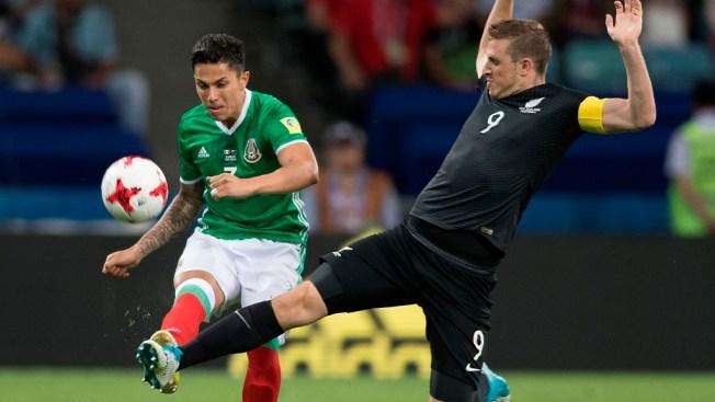 México ganó su primer partido de la Copa Confederaciones