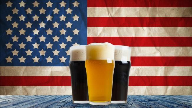 La cerveza es la bebida del 4 de julio