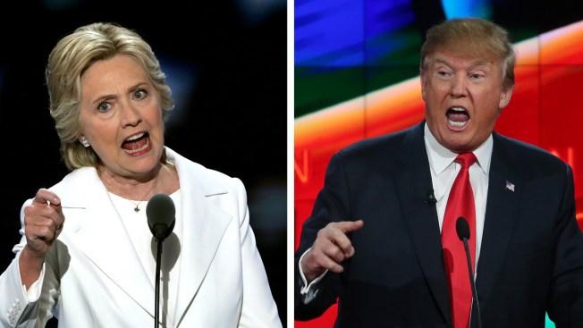 Campaña de Clinton reacciona a visita de Trump a México