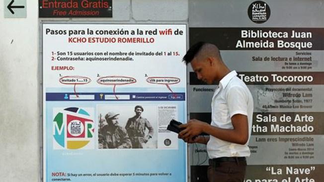 Cuba: internet wifi en varias ciudades