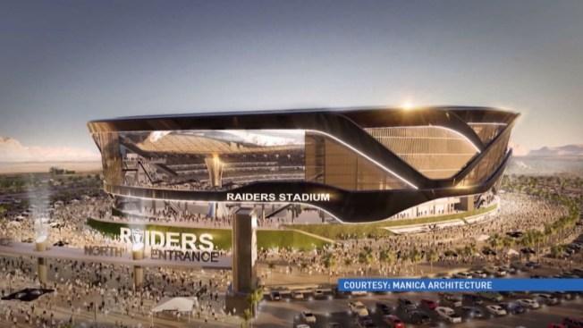Bank of America ayudaría con estadio de los Raiders