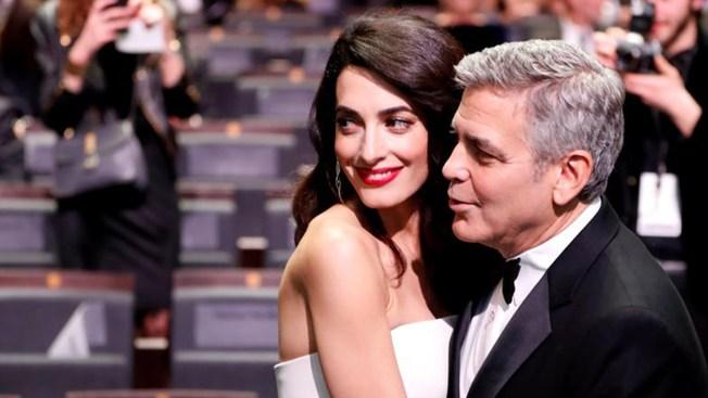 Revelan a quién se parecen los bebés de George y Amal Clooney