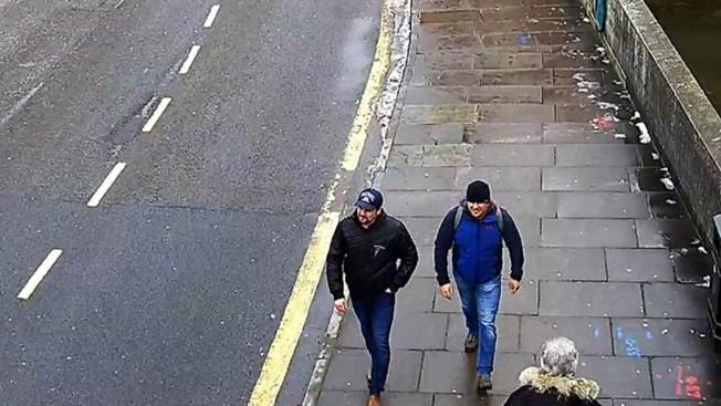 Envenenamiento de exespía: lo que dicen los sospechosos