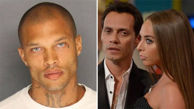"""Ex de Marc Anthony se exhibe con """"El preso más guapo"""" por Hollywood"""