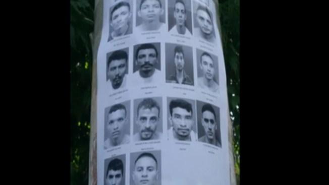Masacran a 14 reos en un penal en El Salvador