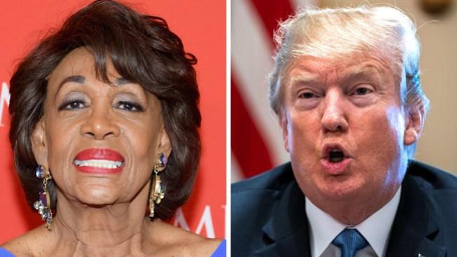 Se arma batalla entre congresista demócrata y Trump