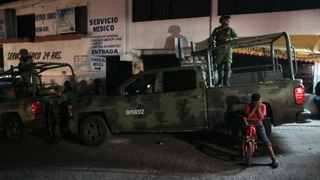 Fuerzas federales desarman a policía en capital de Guerrero