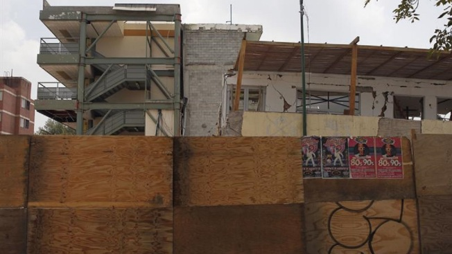 A un año del sismo: escuela derrumbada inicia lucha legal