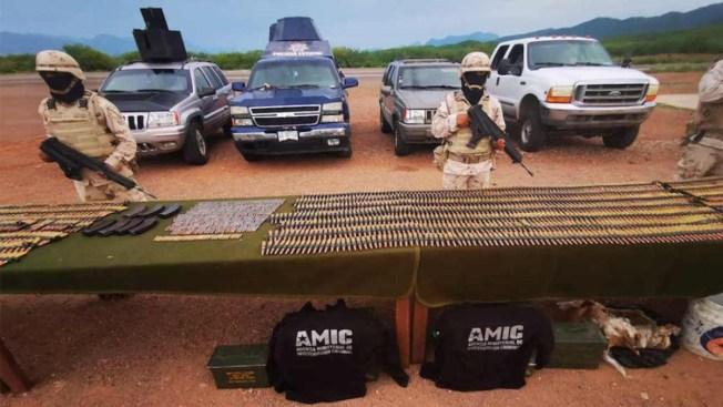 Militares desmantelan campamento del narco