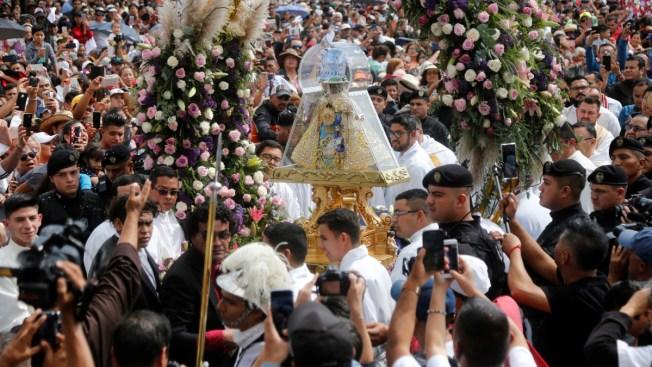 Cientos de miles refrendan devoción por Virgen de Zapopan