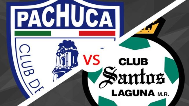 Pachuca vs Santos: este sábado a las 9pm ET