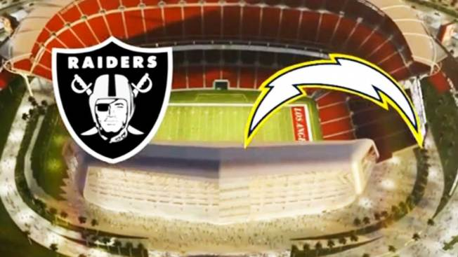 Raiders y Chargers compartirían estadio en L.A.