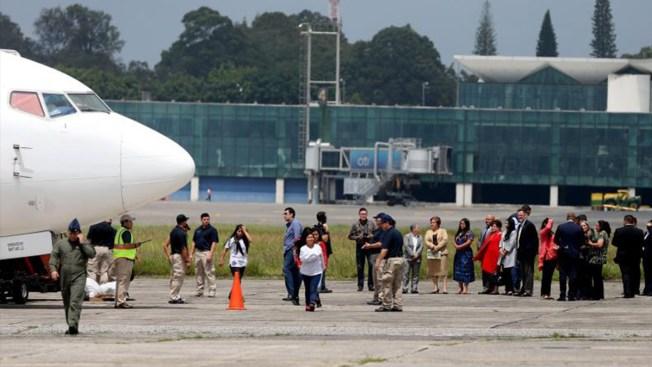 Llegan a Tegucigalpa 936 inmigrantes hondureños deportados