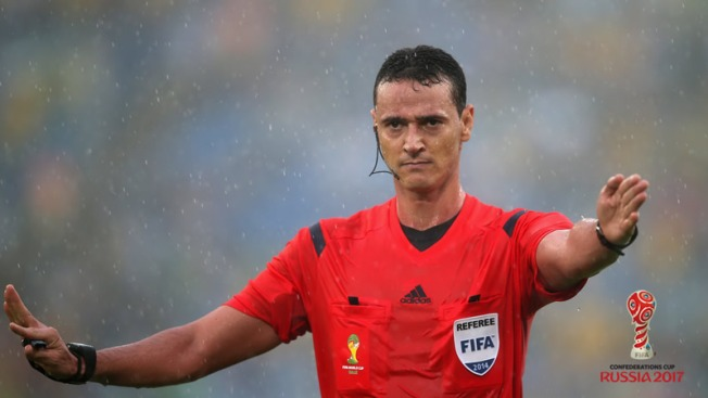 """Wilmar Roldán sera el árbitro del partido inaugural — Copa Confederaciones"""""""