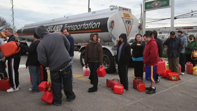 Racionan combustible en Jersey