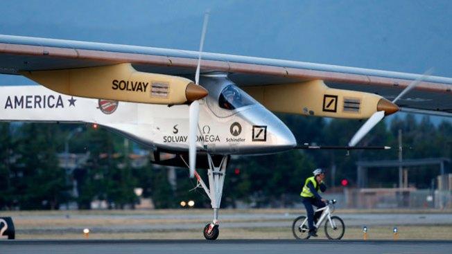 Aterriza primer avión solar en Arizona