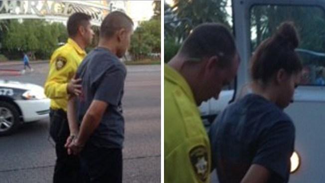"""Arrestan a trabajadores en el """"Strip"""""""