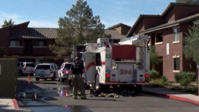 Un muerto en fuego en Henderson