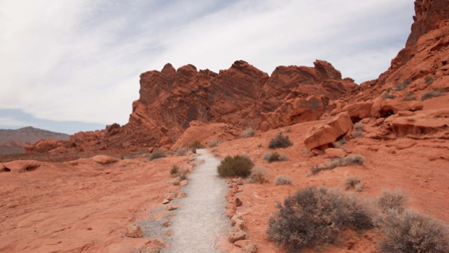 Muere motociclista en Red Rock Canyon