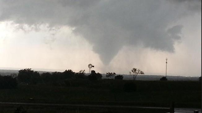 Un muerto por tornado en Oklahoma