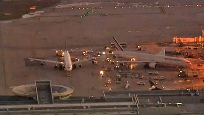 Chocan dos aviones en Miami