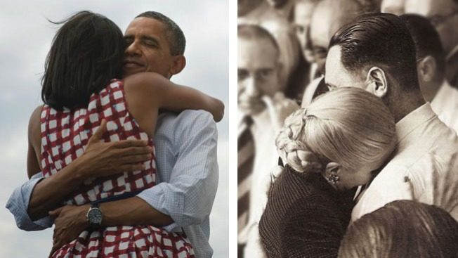 Abrazos presidenciales