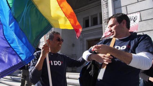 Latinos en apoyo al matrimonio gay