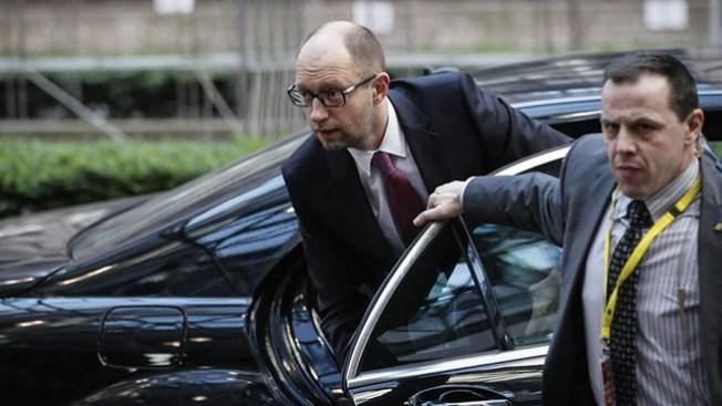Primer ministro de Ucrania no cederá