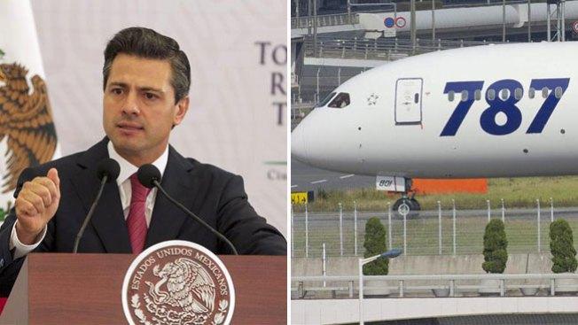 México compra Boeing para Peña Nieto