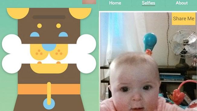 Baby Selfie, la app para bebés vanidosos