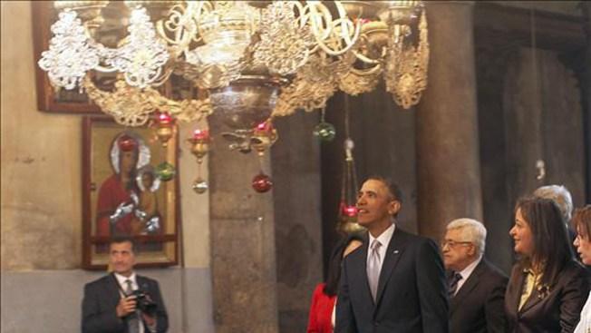 Obama termina su gira por Israel