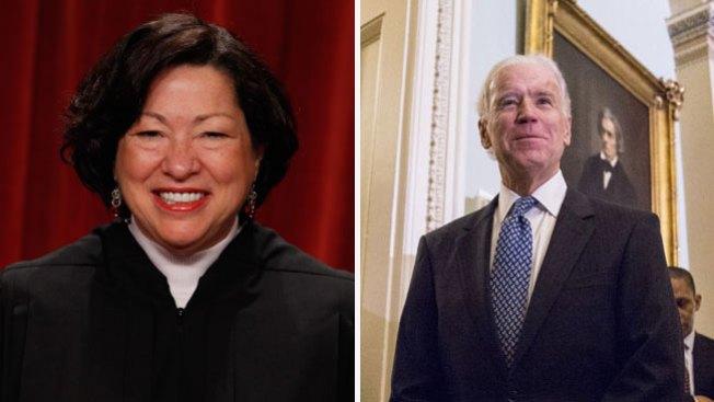 Jueza Sotomayor juramenta a Biden