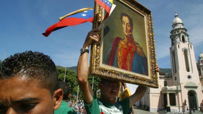 Venezuela: Simón Bolívar manzana de la discordia