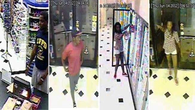 Buscan a jóvenes sospechosos