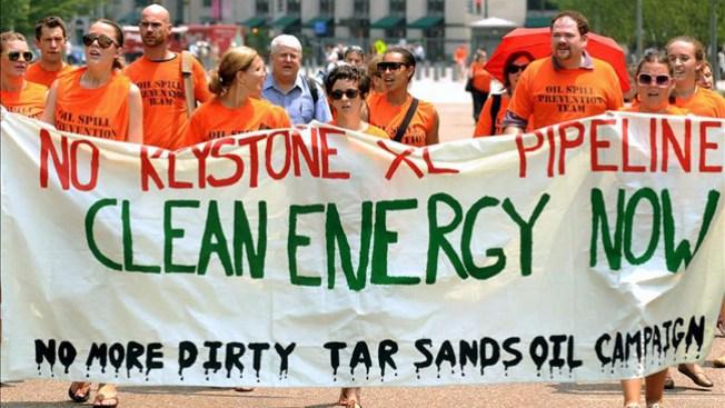 Multitud marcha contra el cambio climático