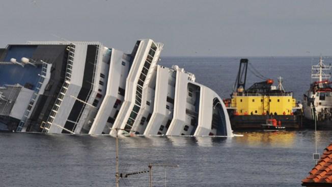 Y van 16...del Costa Concordia