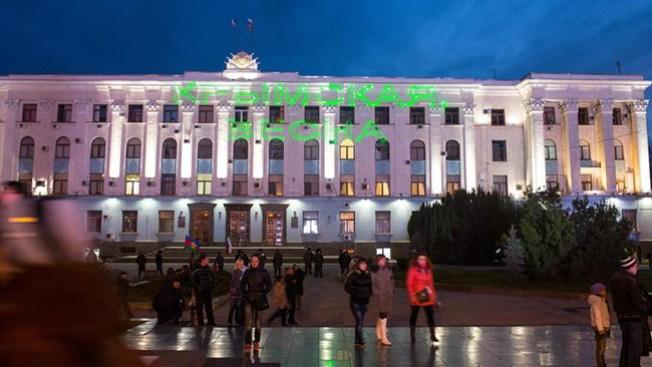 Crimea vota para formar parte de Rusia