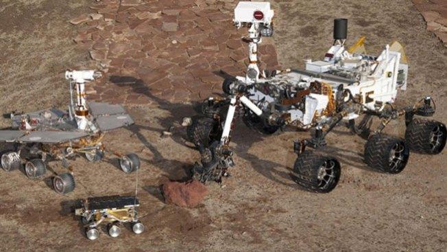 Curiosity perfora roca en busca de microbios