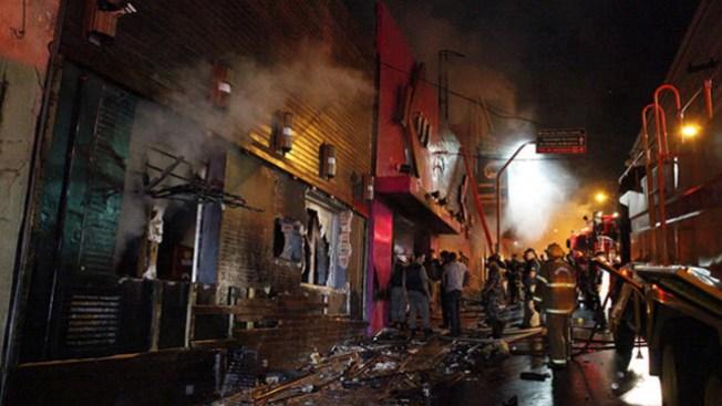 Incendios fatales en discotecas