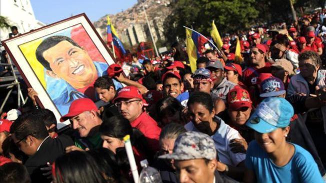 Mandatarios del mundo se reúnen en el funeral de Chávez