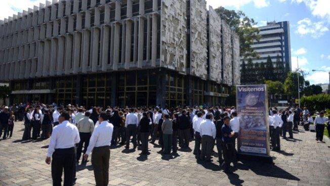 Pánico en Guatemala