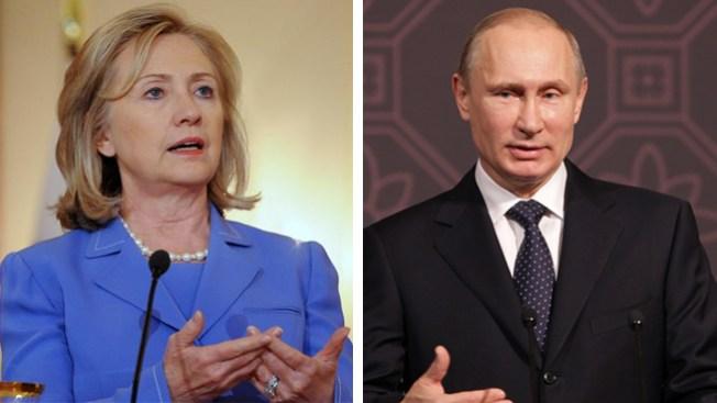 Hillary compara a Putin con Hitler