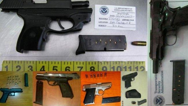 Pasan armas, aún prohibidas
