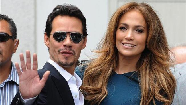 J.Lo y Marc Anthony en Las Vegas