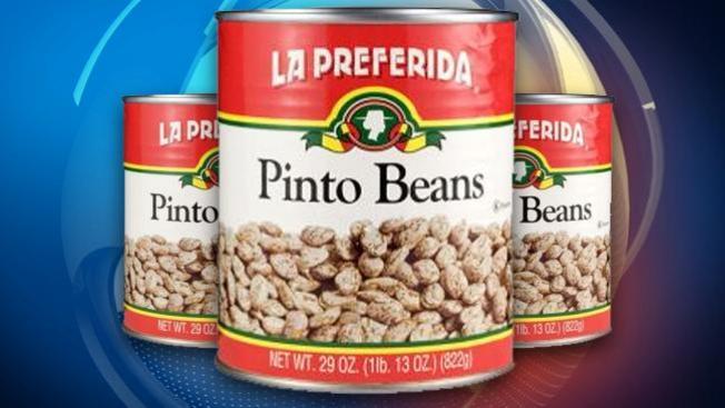 Frijoles en lata retirados del mercado