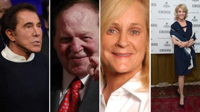 Cuatro de Nevada entre los más ricos